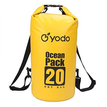 DAWNRISE Waterproof Dry Bags-5L 10L 15L 20L 30L with Adjustable Shoulder Straps for Boating Kayaking Fishing Rafting Camping Snowboarding Water Sports