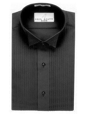 Size XS NWT Men/'s French Blue Lay-Down Collar Dress Shirt. 5XL
