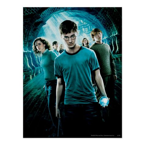 HARRY POTTER AND THE ORDER OF THE PHOENIX™ Blue Poster