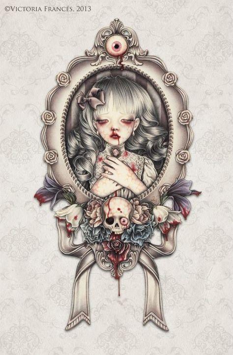 Would make a killer tattoo. Victoria Frances