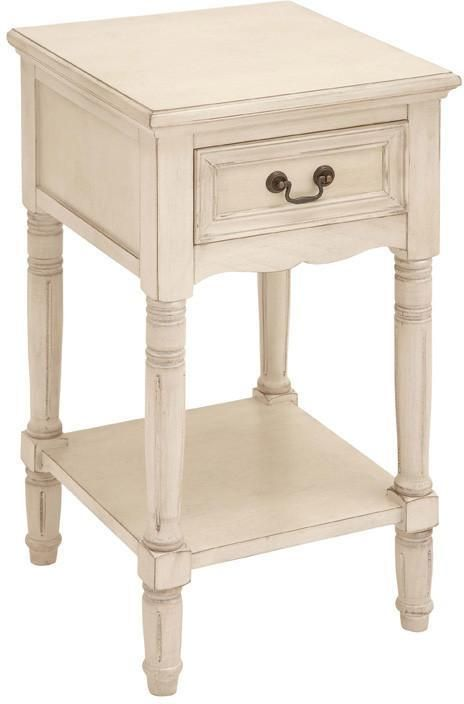 Bayden Hill Wood Side Table 16 W 29 H In 2020 Wooden Side Table