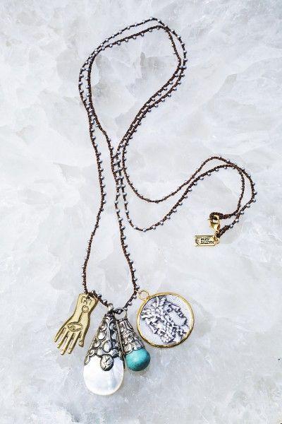 Layered Necklaces Gemstone Choker Layering Jewelry Gold Necklace Botswana Agate Short Gemstone Necklace