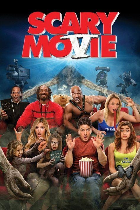 Scary Movie 5 2013 Scary Movie 5 Peliculas Peliculas De Comedia