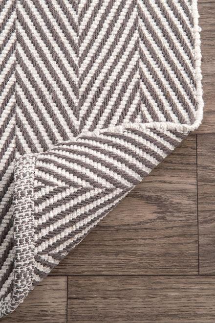 Chalet Herringbone Cotton Flatwoven Rug Rugs Usa Herringbone Rug Flat Woven Rug Durable Rugs