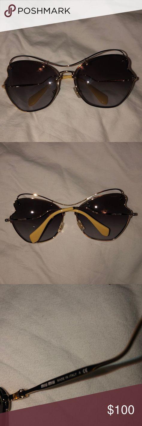 41678a3fa7f5 List of Pinterest miu miu sunglasses square glasses images   miu miu ...