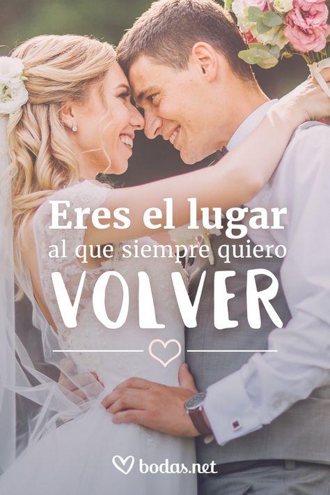 La mejor selección de frases románticas para dedicarle a tu pareja. #bodas #bodasnet #amor #españa #spain #novia2019 #inspiración #boda2019 #frasesbonitas #dedicatorias #amor #frases #pareja