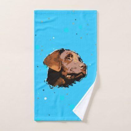 Labrador Puppy Bath Towel Set Zazzle Com Labrador Retriever