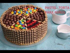 Como Hacer Torta De Cumpleaños Para Festejar Feliz Acqua Rosa Recetas Youtube Torta De Cumpleaños Facil Tortas Tortas Decoradas Con Rocklets