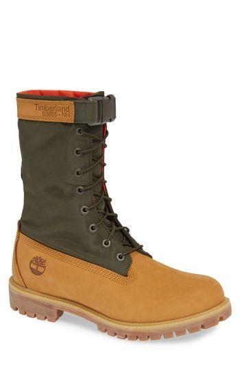 especificar arma posibilidad  TIMBERLAND PREMIUM GAITER PLAIN TOE BOOT. #timberland #shoes | Zapatos  hombre botas, Zapatos nike mujer, Zapatos hombre