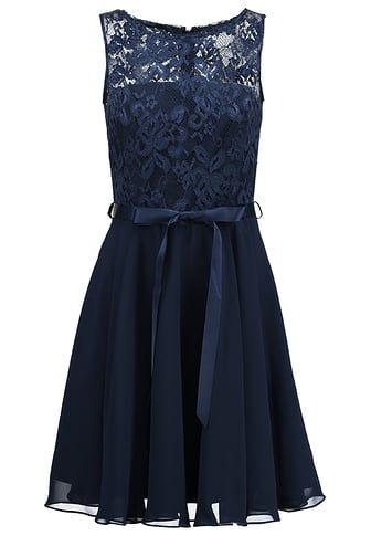 purchase cheap 8a0b5 a8777 Cocktailkleid/festliches Kleid - dunkelblau @ Zalando.de ...