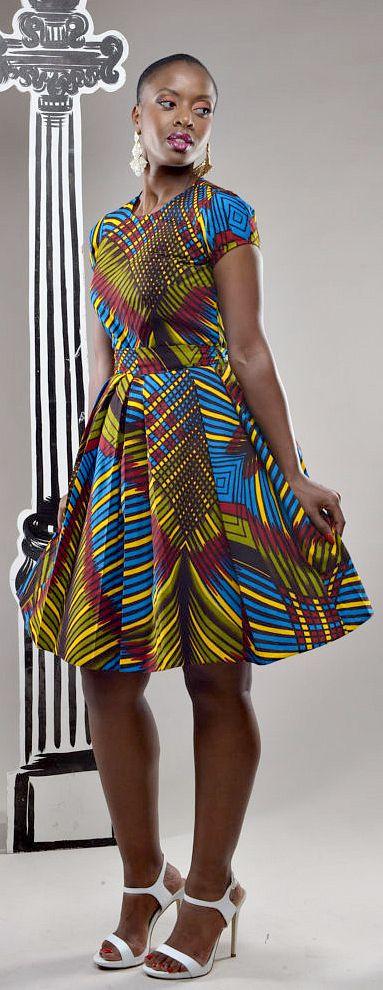 Ankara frisky dress