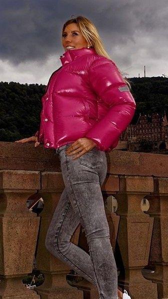 Pin By Keyboard On Downfetish Puffer Jackets Women Puffer Jacket