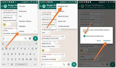 Cara Keluar Dari Grup Whatsapp Tanpa Diketahui Anggota Lain Whatsapp Aplikasi Messenger App Group Online Status Aplikasi