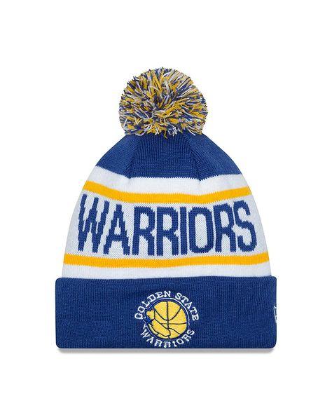 new concept 519e6 5ad12 New Era NBA Golden State Warriors Biggest Fan Redux Knit Beanie,  37.96
