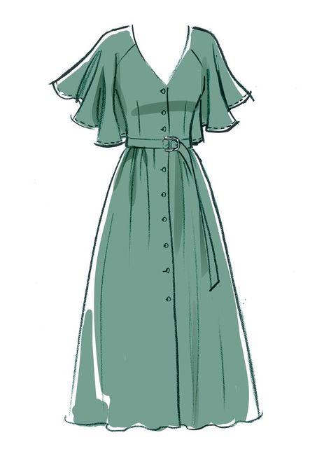 Dress Design Drawing, Dress Design Sketches, Fashion Design Sketchbook, Dress Drawing, Fashion Design Drawings, Drawing Clothes, Fashion Sketches, Outfit Drawings, Drawings Of Dresses
