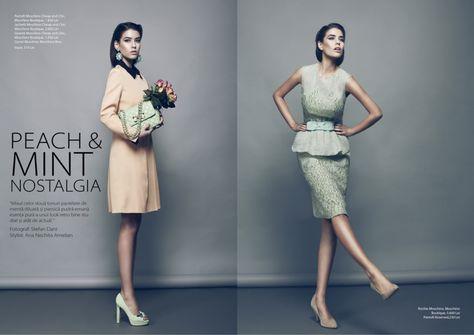 Rumours magazine spread of the super stunning Alice-Alexandra Peneaca