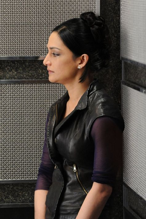 """Kalinda Sharma played by Archie Panjabi in """"The Good Wife"""""""
