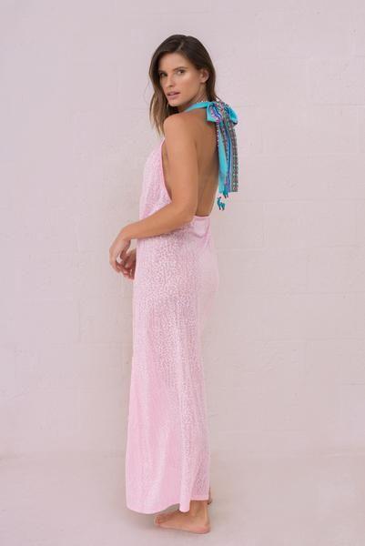 Llama Halter Dress Dresses Halter Dress Halter Maxi Dresses