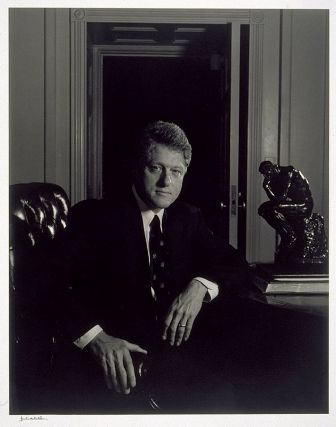 Bill Clinton 1993  Yousuf Karsh, Canadian (born in Turkish Armenia), 1908–2002