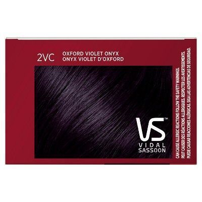 Vidal Sassoon Pro Series Permanent Hair Color 2vc Oxford Violet Onyx 1 Kit Vidal Sassoon Hair Color Vidal Sassoon Pro Series Vidal