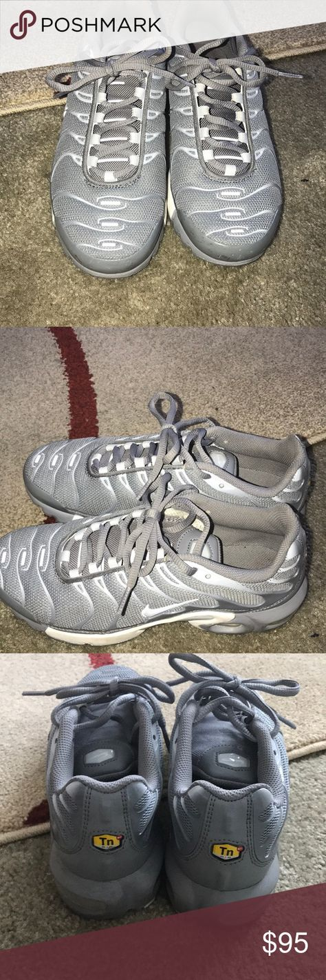 47c8af014c Nike Air Max Plus🙀🙀 Gently worn Boys grade school size 6 fits women 8/8.5 Nike  Shoes Athletic Shoes