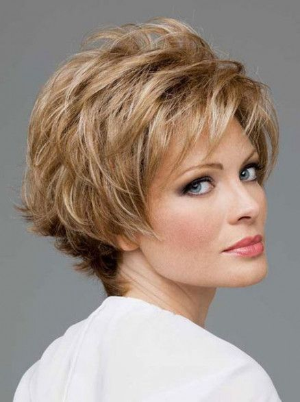 Short Hairstyles For Women Over 50 With Round Faces Short Stacked Hair Short Shag Hairstyles Stacked Hairstyles