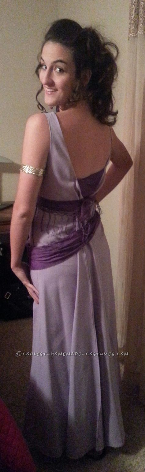 Homemade No-Sew Grecian Goddess Costume: Megara from Disney's Hercules... Coolest Halloween Costume Contest