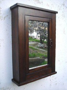 Primitive Mission Medicine Cabinet By Www Artjulercabinets Com 168 00 Resilient Solid Hardwood Construction Dar Rustic Medicine Cabinets Primitive Bathrooms