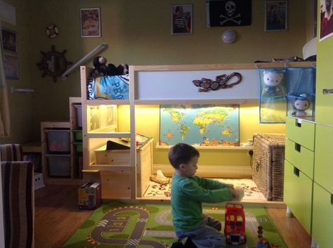 Kuschelhöhle kindergarten  IKEA TROFAST hack … | Kid's Room | Pinterest | Ikea hack, Room and ...