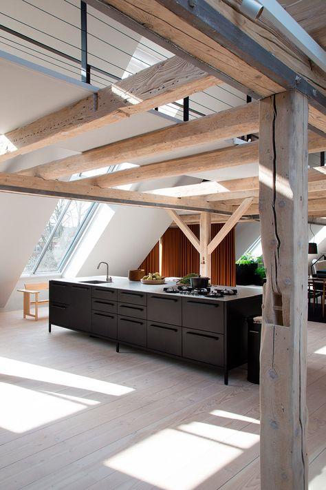 Un Loft De Designer Au Danemark Jumts Design De Cuisine