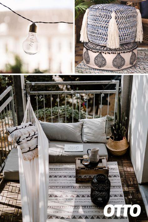So gelingt der Stilmix auf deinem Balkon