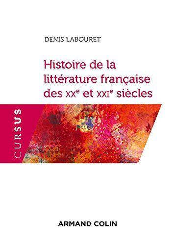 Histoire De La Litterature Francaise Xxe Et Xxie Siecle 2e Ed Gratuit Dissertation Sur