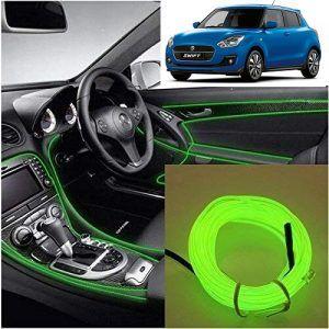 Maruti Suzuki Swift 2019 Car Dashboard 5m Car Interior Light Green