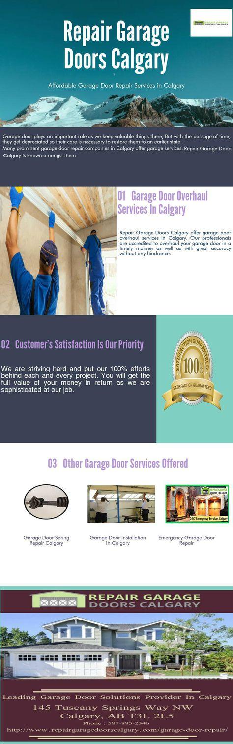 Repair Garage Doors Calgary Offers Durable Commercial Garage Door