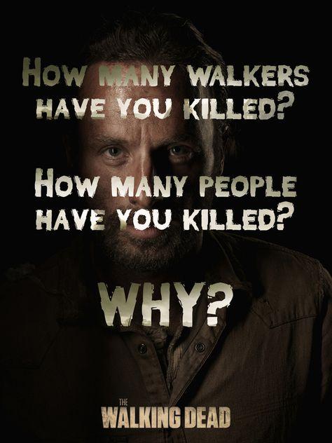 Rick's 3 questions, The Walking Dead https://ianneateblog.wordpress.com/