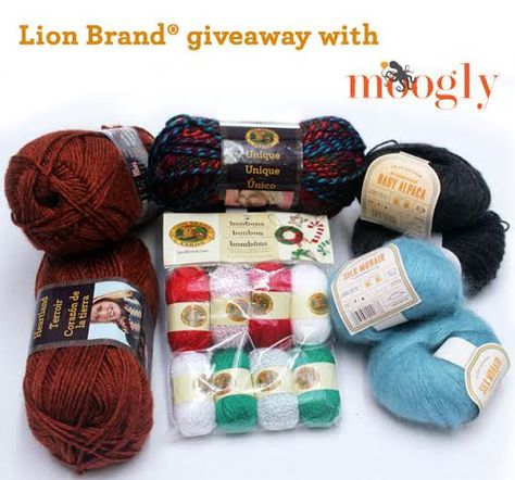 Moogly Lion Brand Giveaway!