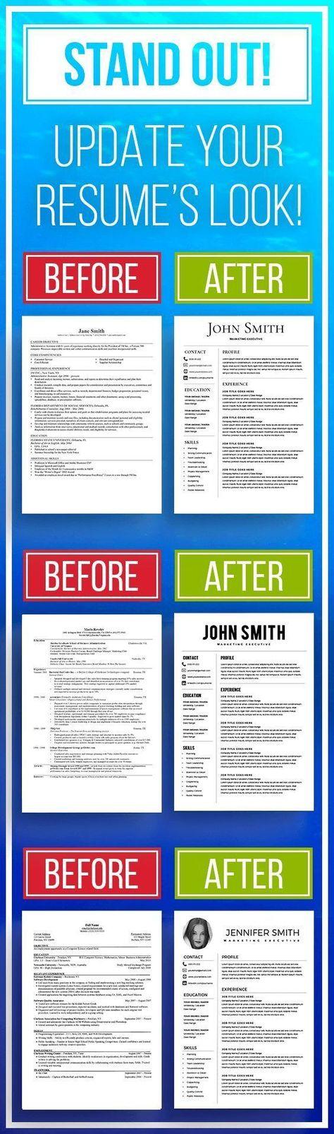 Professional Resume Templates / Modern Resume Templates by KingdomOfDesigns Resume Help, Job Resume, Resume Tips, Resume Examples, Cv Tips, Resume Ideas, Sample Resume, Modern Resume Template, Resume Templates