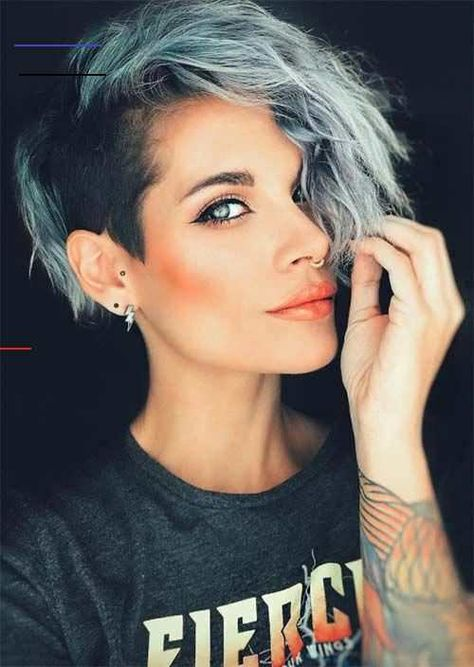 51 Edgy and Rad Short Undercut Hairstyles for Women 51 Edgy and Rad Short Undercut Hairstyles for Women Short Undercut Hairstyles for Women: Undercuts for Women #shorthair #hairstyle #styling #fbloggers #hair #shorthairstylesforwomen<br> Short undercut hairstyles for women are perfect for a show-stopping, edgy look that can also be pretty and feminine when styled appropriately. It is the chameleon hairstyle of the moment, and it isn't going anywhere fast! Undercuts for women allow you to demonst