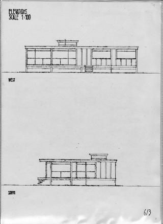 Plans for a Walter Segal house