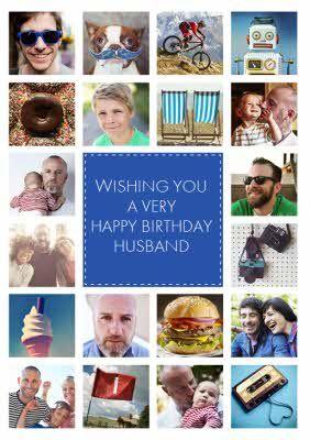 Multi Photo Upload Birthday Card Happy Birthday Husband Photo Birthday Card For Men Sp Personalized Birthday Cards Uncle Birthday Happy Fathers Day Photos