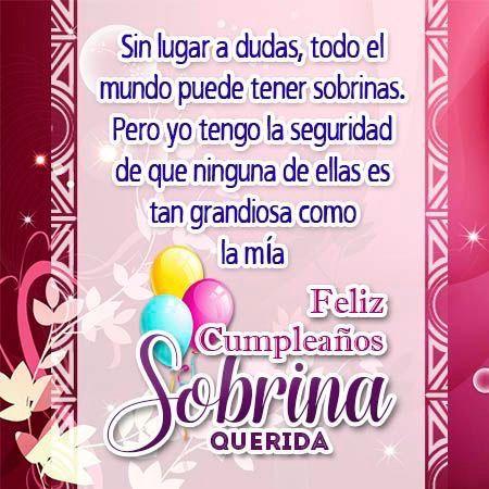 Pin De Lorena Lopez En Cumpleaños Feliz Cumpleaños Sobrino Feliz Cumpleaños Para Mí Tarjeta Feliz Cumpleaños Sobrina