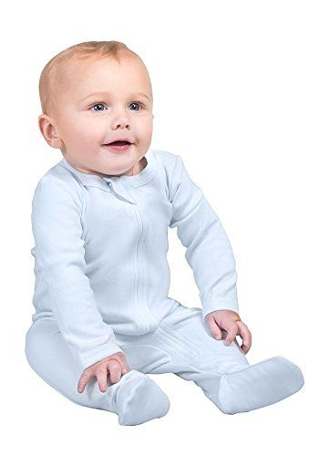 Long Sleeve Footed Sleeper Owlivia Organic Cotton Baby Boy Girl Zip Front Sleep N Play