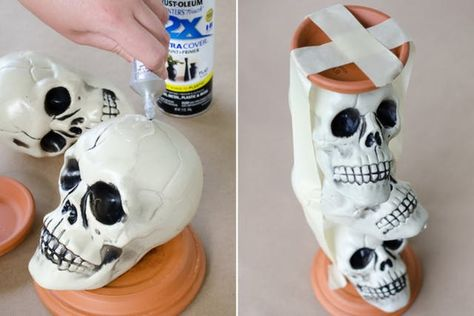 12 Dollar Tree DIY Halloween Decorations to Scream About