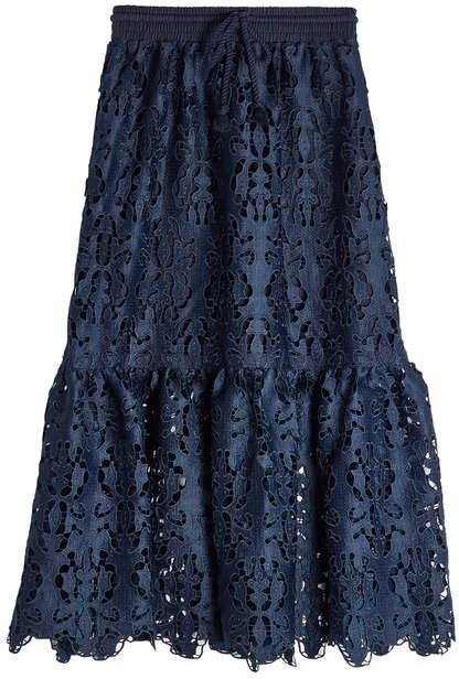 78ec33f1ceed0 See by Chloe Lace Skirt