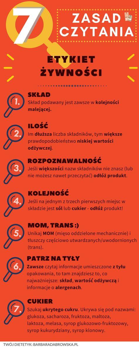 7 Zasad Czytania Etykiet Zywnosci Infografika Dietetyka Zakupy Spozywcze Moga Byc Prawdziwym Wyzwaniem O Nasza Uwage Walcza P Healthy Life Nutrition Healthy