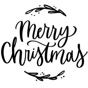 Silhouette Design Store Merry Christmas Christmas Lettering Merry Christmas Sign Christmas Calligraphy