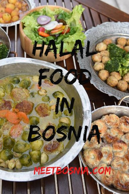 Where To Eat Halal Food In Bosnia In 2020 Halal Recipes Food Halal