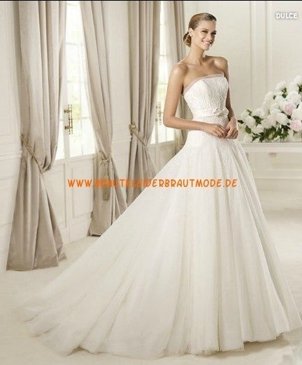 klassischer Stil online hier wie man kauft Hochzeitskleid Ohne Spitze | Hochzeitskleid, Langärmelige ...