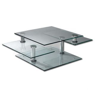 Tempered Glass 4 Tier Swivel Coffee Table Coffee Table Flooring Sale Tempered Glass