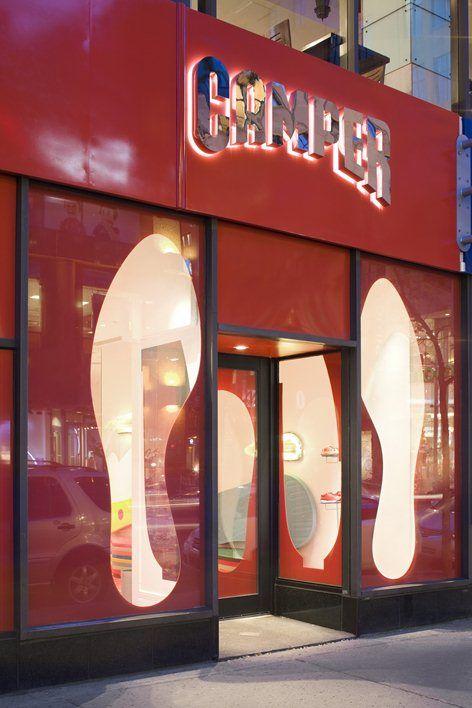 Camper Store Montréal, Montreal, 2012   Gaetano Pesce